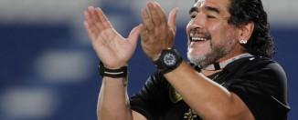 Diego Maradona se moque du bresil