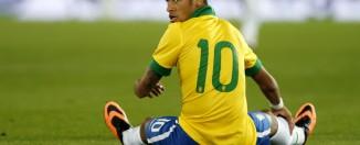 Neymar entrainement brésil