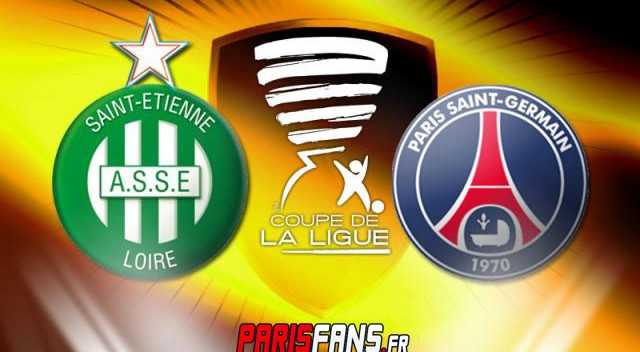 Match as saint etienne psg en direct live - Paris saint etienne coupe de la ligue ...