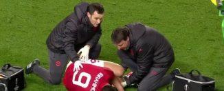 Les images terribles de la blessure de Zlatan Ibrahimovic