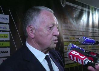 Angers/Lyon - Aulas « On a eu de la réussite mais les joueurs ont su résister »