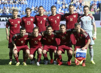 L equipe nationale de football de Russie
