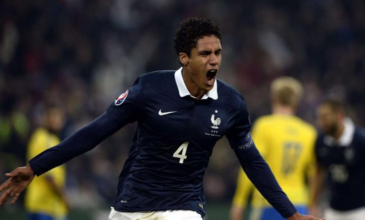 edf ruffier titulaire varane capitaine. Black Bedroom Furniture Sets. Home Design Ideas